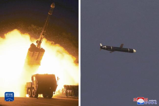 朝鲜试射新型远程巡航导弹 外媒:或具备核能力