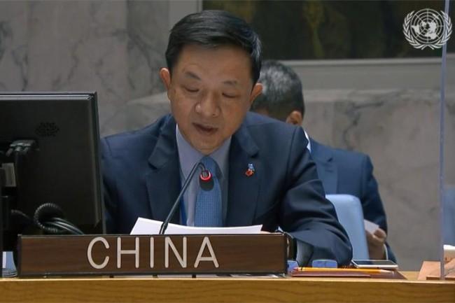 中国常驻联合国副代表戴兵