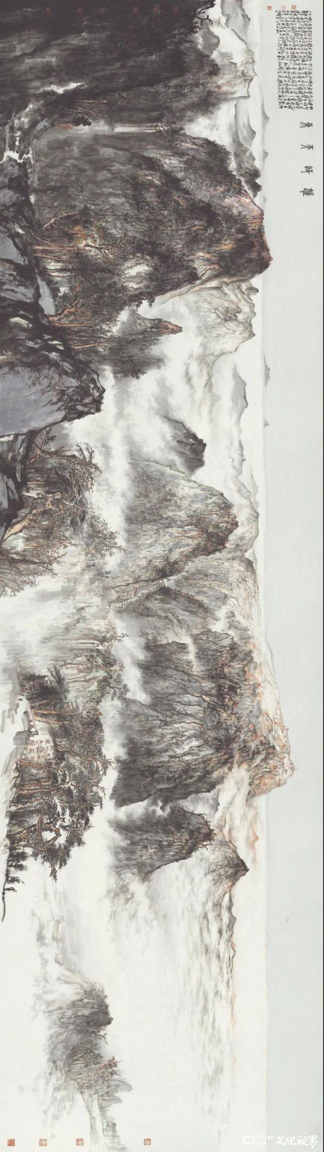 放笔直取 大刀阔斧——著名画家贾荣志笔下源于自然而又超越自然的水墨境界