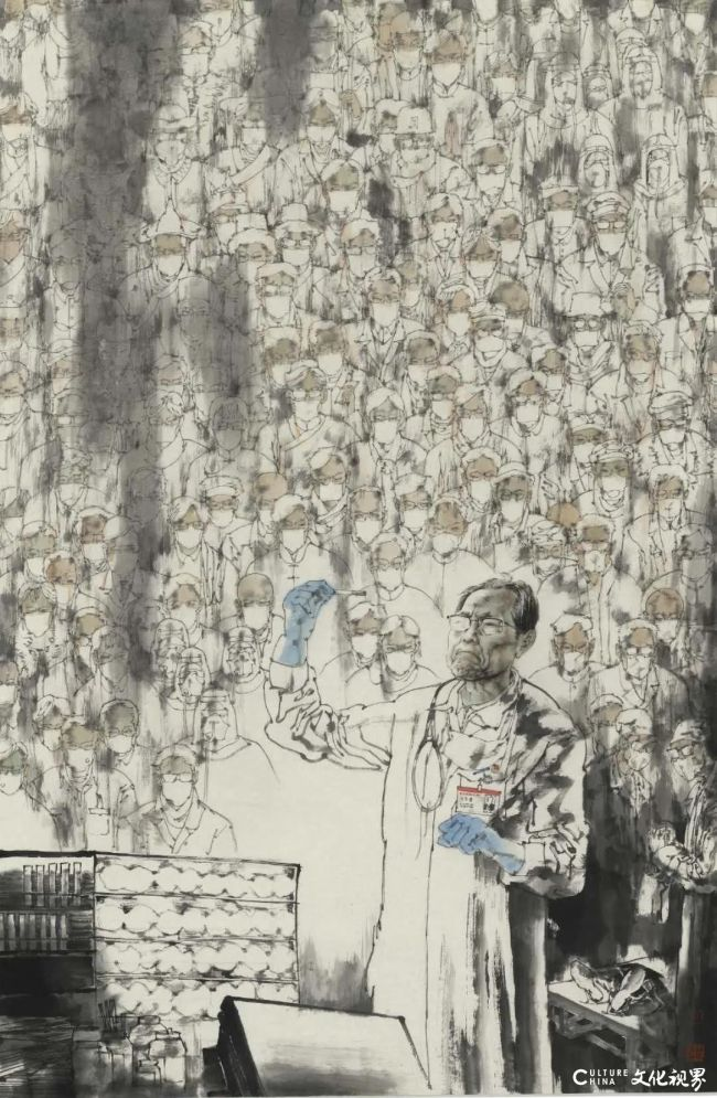 全国政协委员孔维克:反映时代、讴歌人民是艺术家的神圣天职