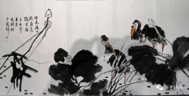 线条是自然的智慧——品鉴著名画家董廷新新作中线条的艺术
