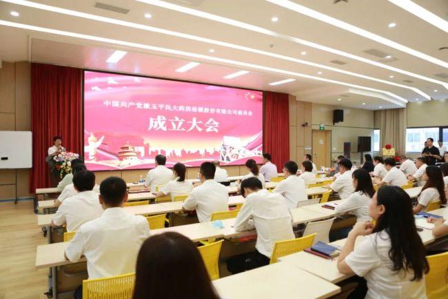 中国共产党漱玉平民大药房连锁股份有限公司委员会成立
