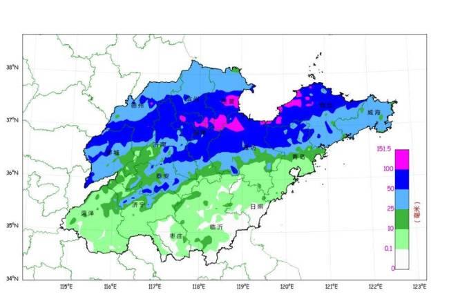 山东气温大跳水,西部最低温降8~10℃!今夜到7日仍有降雨