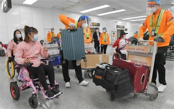 西安咸阳机场顺利完成首批残特奥会涉赛人员保障工作