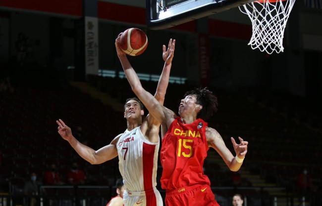 奥运落选赛-中国男篮负加拿大