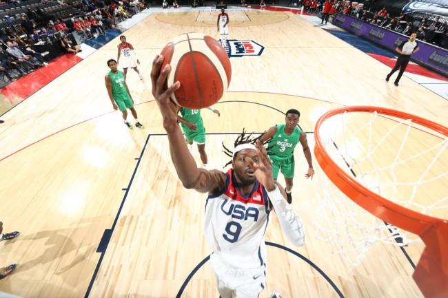美国男篮热身赛输球 尼日利亚20记三分造大冷门