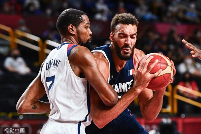 杜兰特29分美国男篮夺冠 法国功亏一篑获银牌