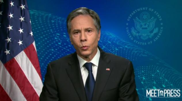 """美国务卿又""""插手""""台湾问题 称有""""严肃的承诺"""""""