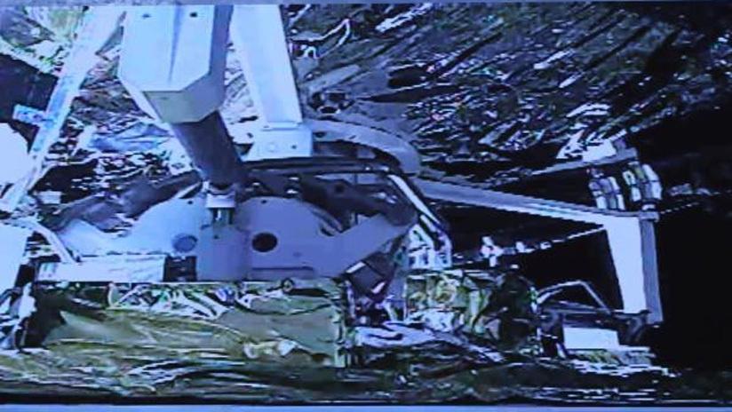 """月軌上的太空""""牽手"""":21秒,嫦娥五號完成在軌樣品轉移"""