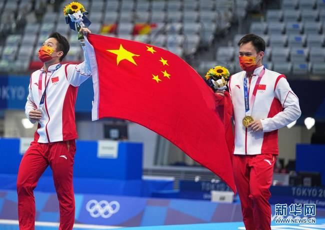 东京奥运会 中国军团今日金牌瞬间!