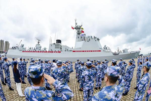 第39批护航编队起航赴亚丁湾