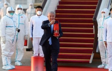北京冬奥火种抵达北京